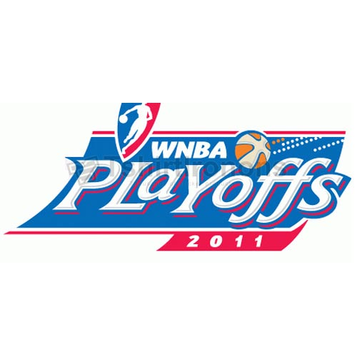 WNBA Playoffs T-shirts Iron On Transfers N5725