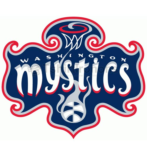 Washington Mystics T-shirts Iron On Transfers N5708