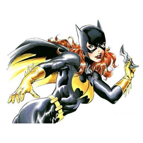 Batgirl T-shirts Iron On Transfers N7394