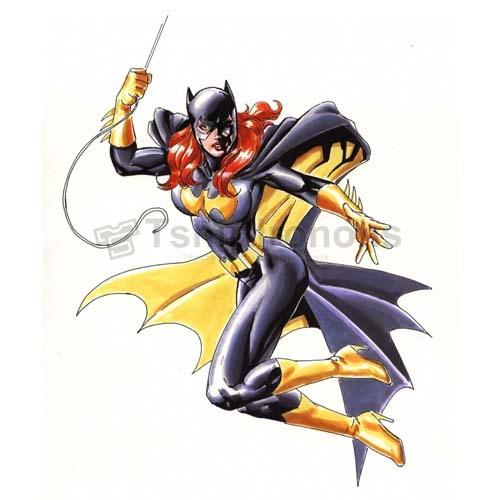 Batgirl T-shirts Iron On Transfers N7405