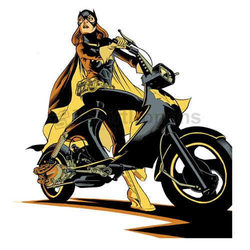 Batgirl T-shirts Iron On Transfers N7418
