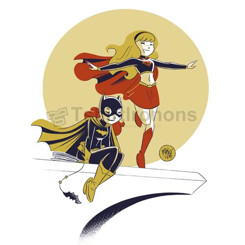 Batgirl T-shirts Iron On Transfers N7421
