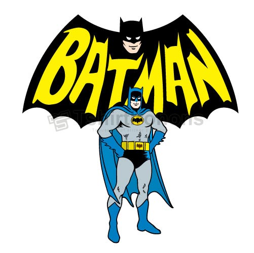 Batman T-shirts Iron On Transfers N2605