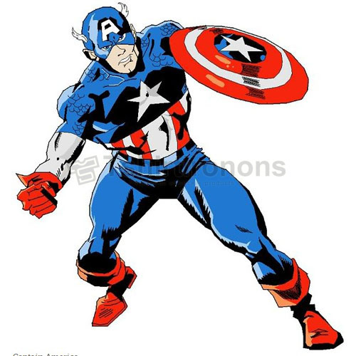 Captain America T-shirts Iron On Transfers N4462