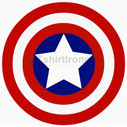 Captain America T-shirts Iron On Transfers N4467