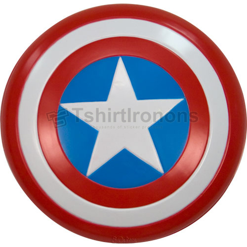 Captain America T-shirts Iron On Transfers N4473