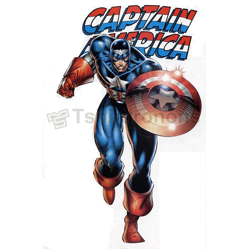 Captain America T-shirts Iron On Transfers N4475