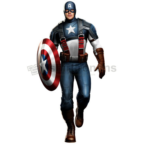 Captain America T-shirts Iron On Transfers N4487