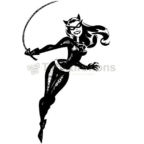 Catwoman T-shirts Iron On Transfers N4907