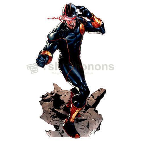 Cyclops Marvel T-shirts Iron On Transfers N7567