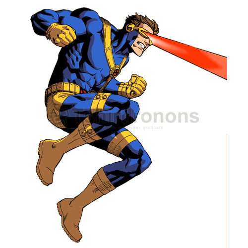 Cyclops Marvel T-shirts Iron On Transfers N7568