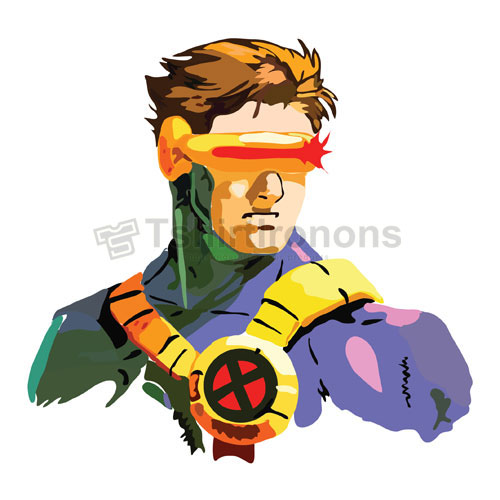 Cyclops Marvel T-shirts Iron On Transfers N7572