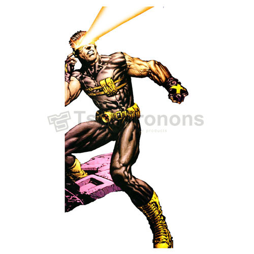 Cyclops Marvel T-shirts Iron On Transfers N7584