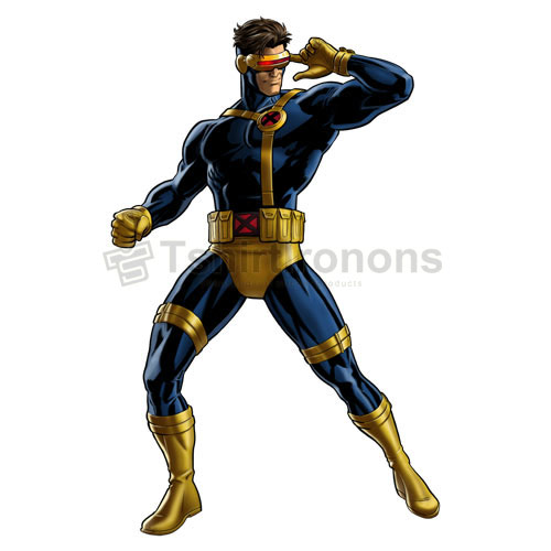 Cyclops Marvel T-shirts Iron On Transfers N7585