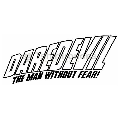Daredevil T-shirts Iron On Transfers N6813