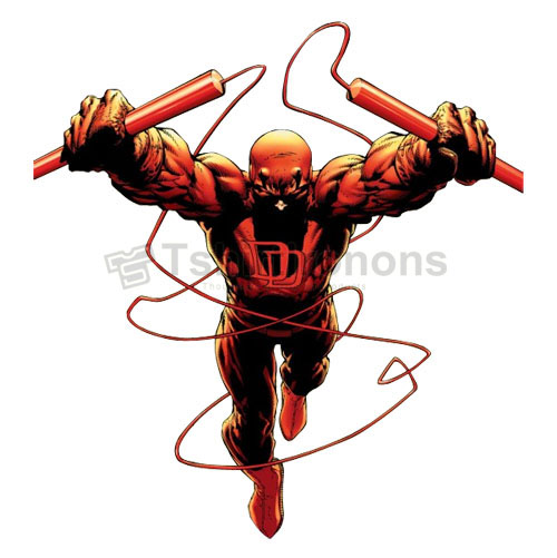 Daredevil T-shirts Iron On Transfers N6824