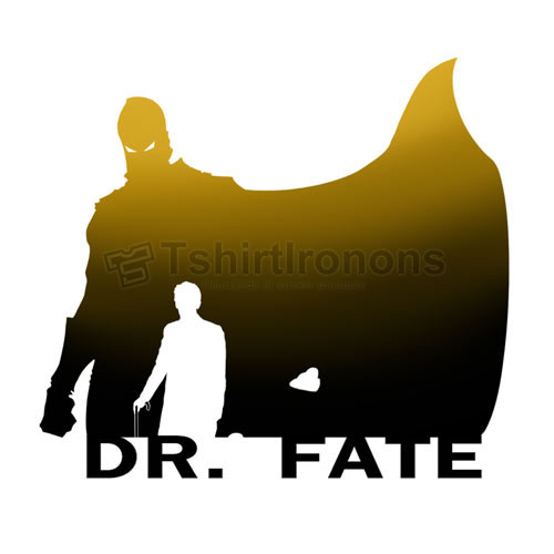 Dr Fate T-shirts Iron On Transfers N7491