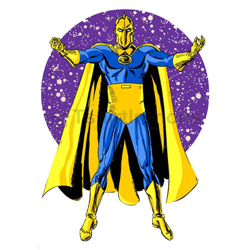 Dr Fate T-shirts Iron On Transfers N7492