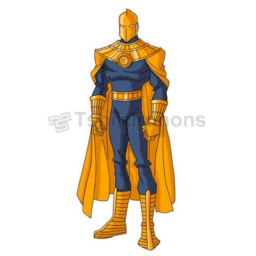 Dr Fate T-shirts Iron On Transfers N7499