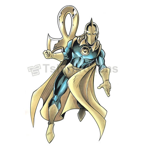 Dr Fate T-shirts Iron On Transfers N7504