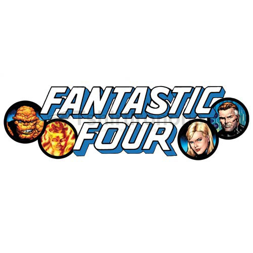 Fantastic Four T-shirts Iron On Transfers N4949