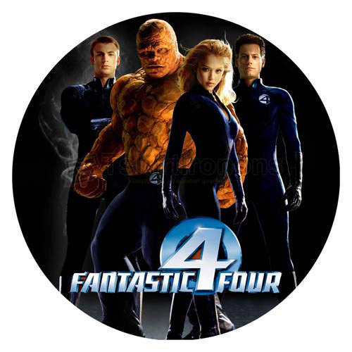 Fantastic Four T-shirts Iron On Transfers N4951