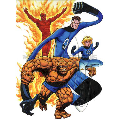 Fantastic Four T-shirts Iron On Transfers N4952