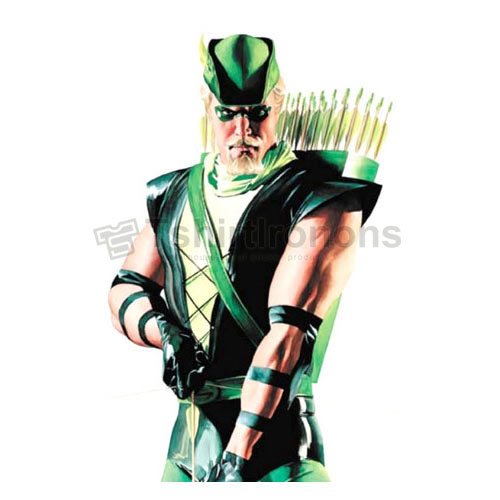 Green Arrow T-shirts Iron On Transfers N4964