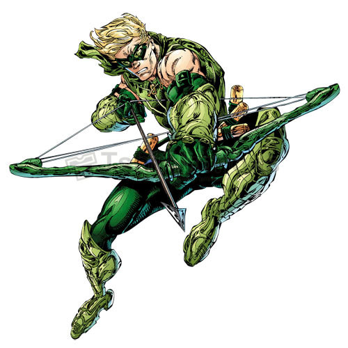 Green Arrow T-shirts Iron On Transfers N4965