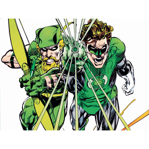 Green Arrow T-shirts Iron On Transfers N4968
