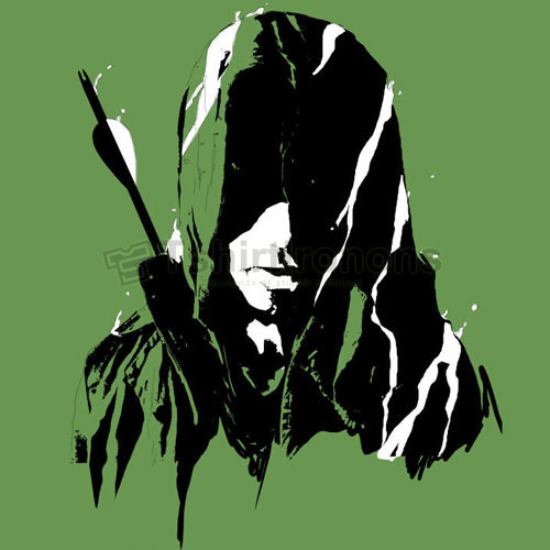 Green Arrow T-shirts Iron On Transfers N4969