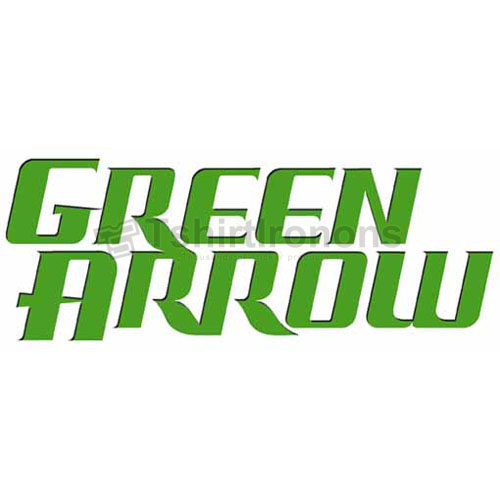 Green Arrow T-shirts Iron On Transfers N4970