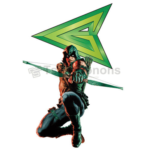 Green Arrow T-shirts Iron On Transfers N4971