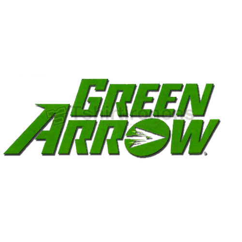 Green Arrow T-shirts Iron On Transfers N4972