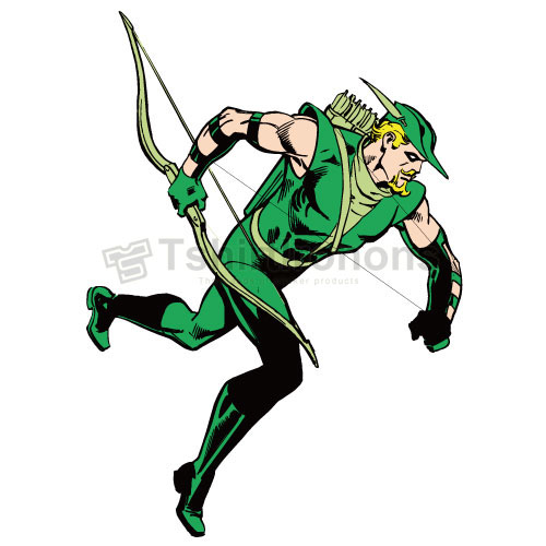 Green Arrow T-shirts Iron On Transfers N4975