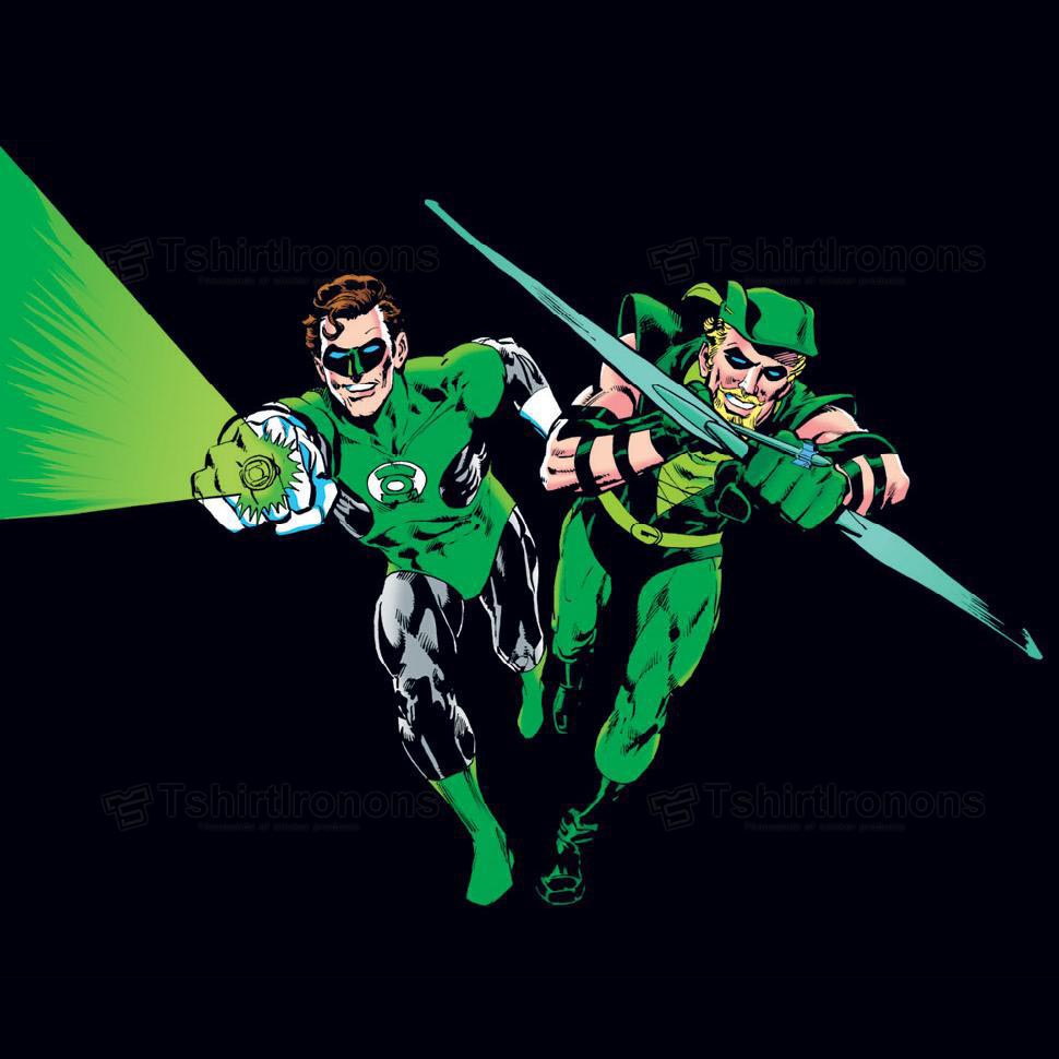 Green Lantern T-shirts Iron On Transfers N4508