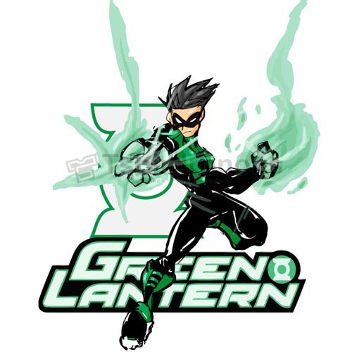 Green Lantern T-shirts Iron On Transfers N4511