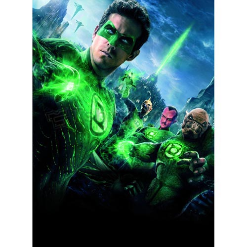 Green Lantern T-shirts Iron On Transfers N4512