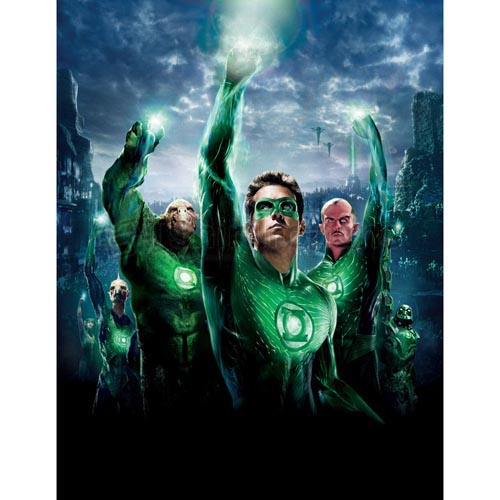 Green Lantern T-shirts Iron On Transfers N4513