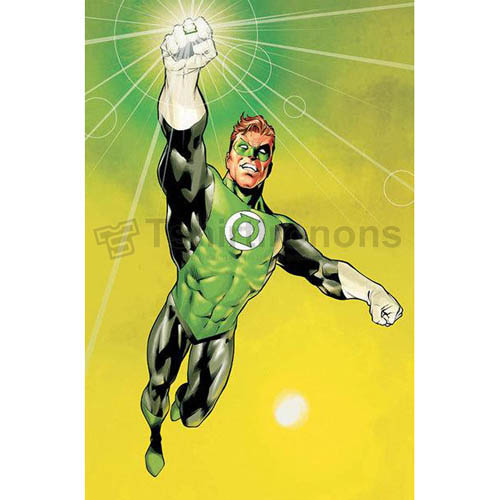 Green Lantern T-shirts Iron On Transfers N4518
