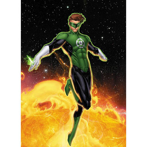 Green Lantern T-shirts Iron On Transfers N4519