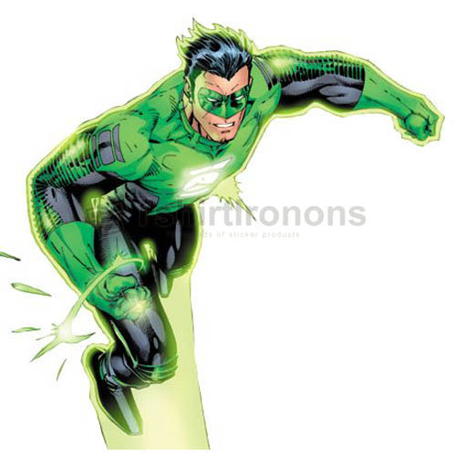 Green Lantern T-shirts Iron On Transfers N4521