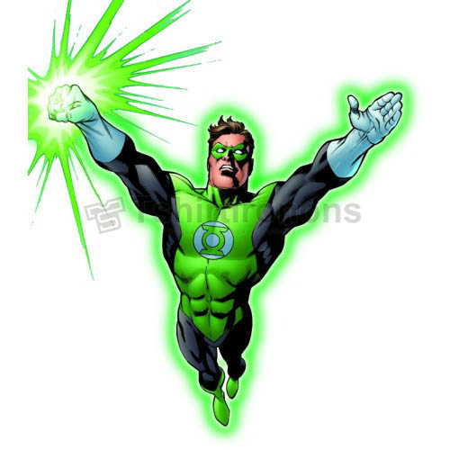 Green Lantern T-shirts Iron On Transfers N4526