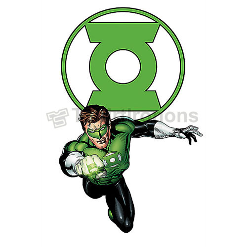 Green Lantern T-shirts Iron On Transfers N4527