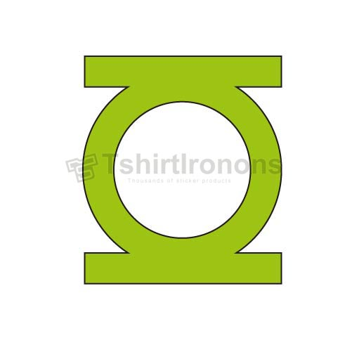 Green Lantern T-shirts Iron On Transfers N4529
