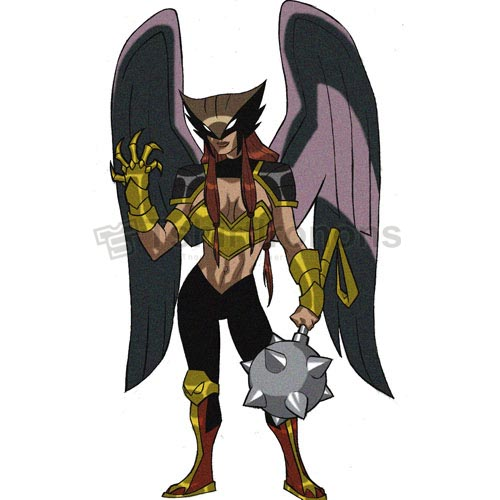 Hawkgirl T-shirts Iron On Transfers N4980