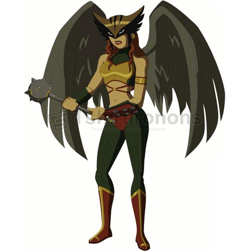 Hawkgirl T-shirts Iron On Transfers N4983