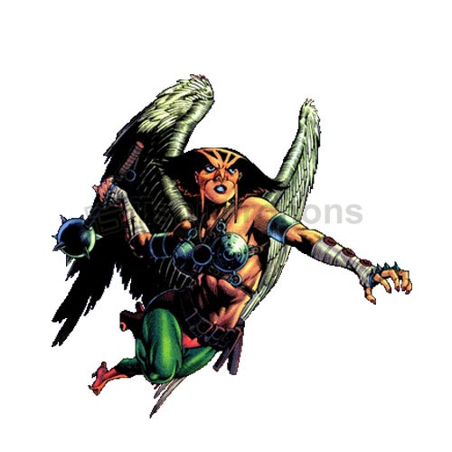 Hawkgirl T-shirts Iron On Transfers N4988