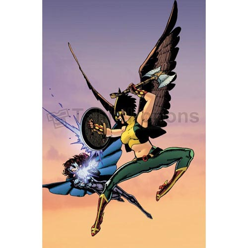 Hawkgirl T-shirts Iron On Transfers N4989