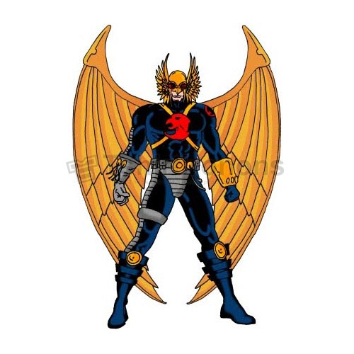 Hawkman T-shirts Iron On Transfers N7648